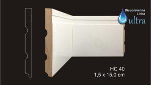 Rodapé HC 40