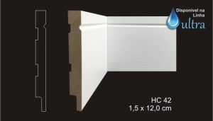 Rodapé HC 42