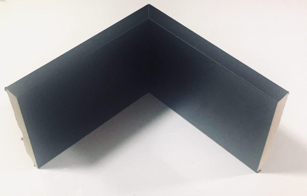 Rodapé 10 cm Preto (Lançamento ) cód 38